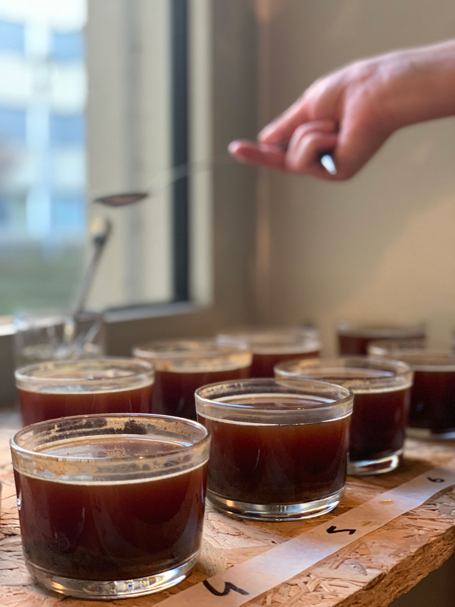Sensory koffie training